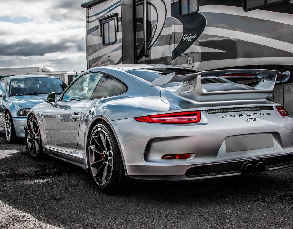 équipements Porsche